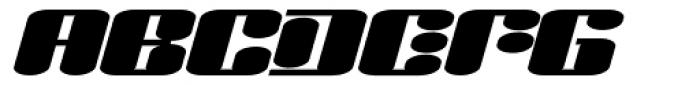 Liquid Sex Italic Font UPPERCASE