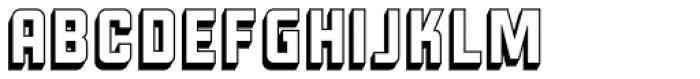 Liquorstore 3D Font UPPERCASE