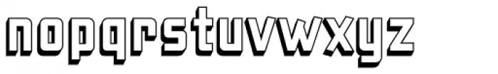 Liquorstore 3D Font LOWERCASE