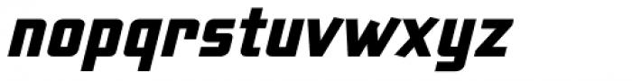Liquorstore Bold Italic Font LOWERCASE