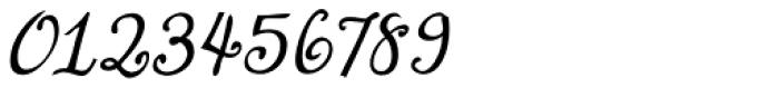 Lirio Slanted Font OTHER CHARS