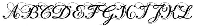 Lisa Bella Font UPPERCASE