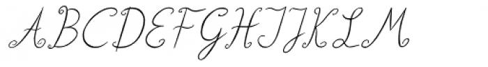 Lisa Condensed Italic Font UPPERCASE