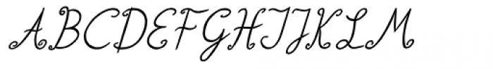 Lisa Italic Font UPPERCASE