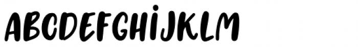 Lisa Regular Font LOWERCASE