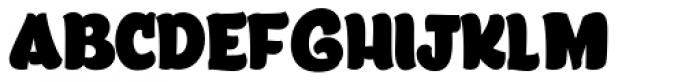 Lita Caps Fat Font UPPERCASE