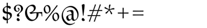 Litania Font OTHER CHARS