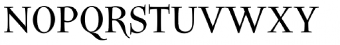 Litania Font UPPERCASE