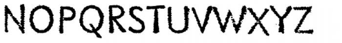Literally EF Original Font UPPERCASE