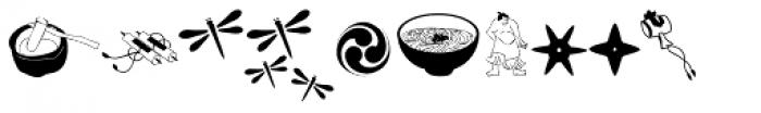 Little Japan Font OTHER CHARS