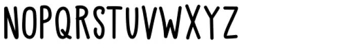 Little Pea Medium Font UPPERCASE