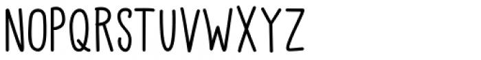Little Pea Regular Font UPPERCASE