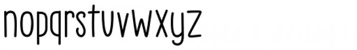 Little Pea Regular Font LOWERCASE