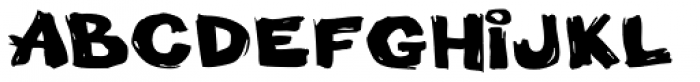 Little Piggy BTN Wide Font UPPERCASE