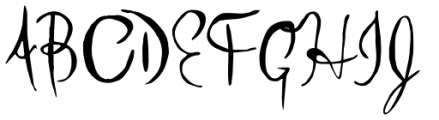 Little Sprout Solid Font UPPERCASE