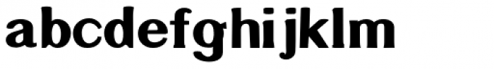 Littler Serifada Font LOWERCASE