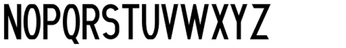 Litto Condenced Font UPPERCASE