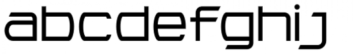 Litto Expanded Font LOWERCASE