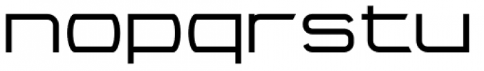 Litto Extraexpanded Font LOWERCASE