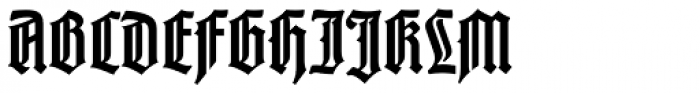 Liturgisch Font UPPERCASE