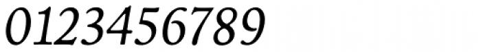 Livory Italic Font OTHER CHARS