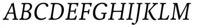 Livory Italic Font UPPERCASE