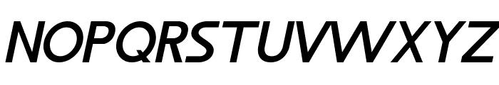 LJ Design Studios IS Bold Italic Font UPPERCASE