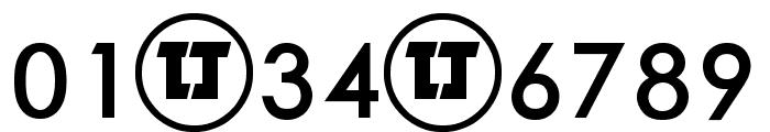LJ Design Studios IS Bold Font OTHER CHARS