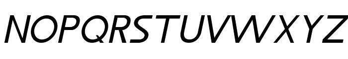 LJ Design Studios IS Italic Font UPPERCASE