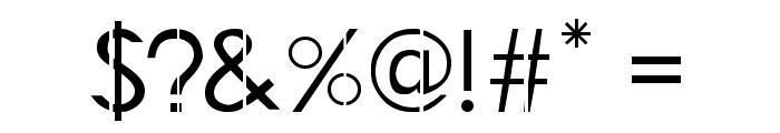 LJ Studios GF Font OTHER CHARS