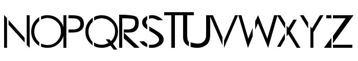 LJ Studios GF Font UPPERCASE