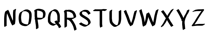LJ Studios MNS 2 - LJ-Design Studios Medium Font UPPERCASE