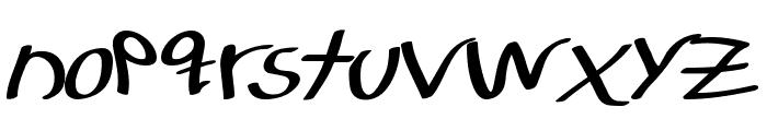 LJ Studios MNS - LJ-DesignStudios Manuscrita Font LOWERCASE