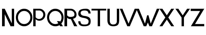 LJ Studios MonitorIS MAYUS Font UPPERCASE