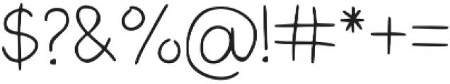 LK-Andromeda-light otf (300) Font OTHER CHARS