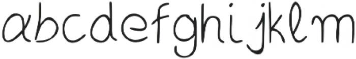 LK-Andromeda-light otf (300) Font LOWERCASE
