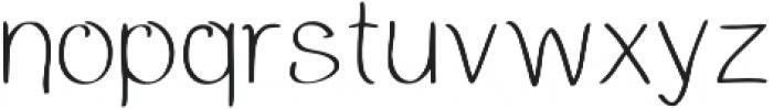 LK-Cassandra-light otf (300) Font LOWERCASE