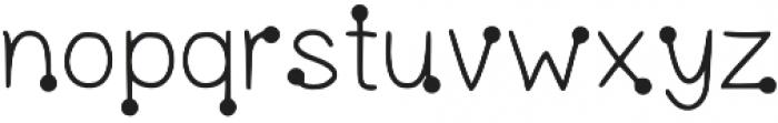 LK-Delos-regular-dots otf (400) Font LOWERCASE