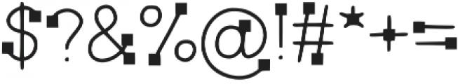 LK-Delos-regular-square otf (400) Font OTHER CHARS
