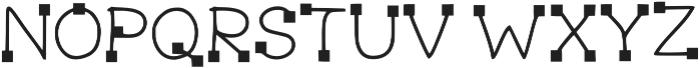 LK-Delos-regular-square otf (400) Font UPPERCASE