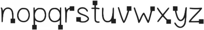LK-Delos-regular-square otf (400) Font LOWERCASE