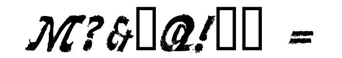 LLFaktotum Font OTHER CHARS
