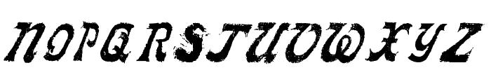 LLFaktotum Font UPPERCASE