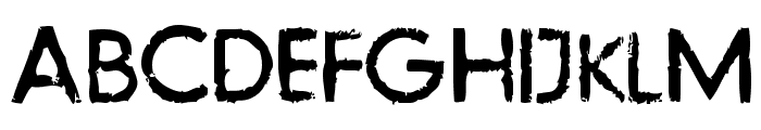 LLFutur Font UPPERCASE
