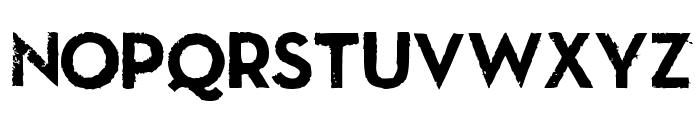 LLNitro Font UPPERCASE