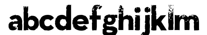 LLNitro Font LOWERCASE