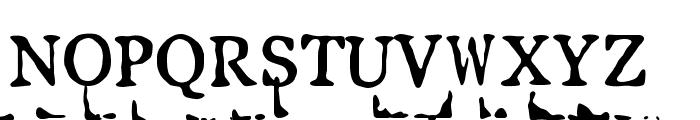 LLPearlBlack Font UPPERCASE