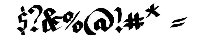 LLTextur  Regular Font OTHER CHARS