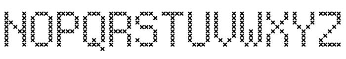 LL_XMas Font UPPERCASE