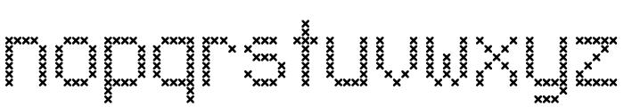 LL_XMas Font LOWERCASE